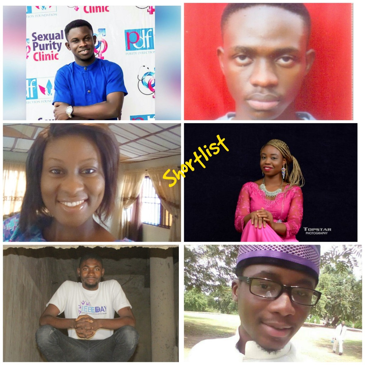 Vote for your favourite spoken word